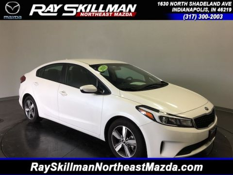 Pre Owned 2018 Kia Forte LX Sedan In Indianapolis #U6238 | Ray Skillman  Northeast Mazda