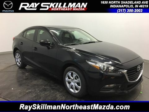 New 2018 Mazda3 4DR SDN SPORT AT