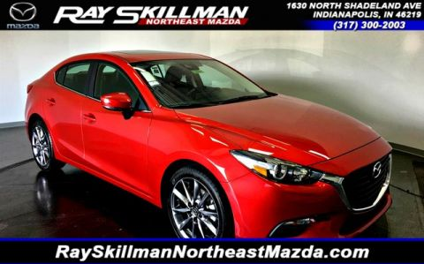 New 2018 Mazda3 4DR SDN TOURING MT
