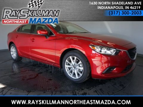 New 2017 Mazda6 4DR SDN SPORT AT