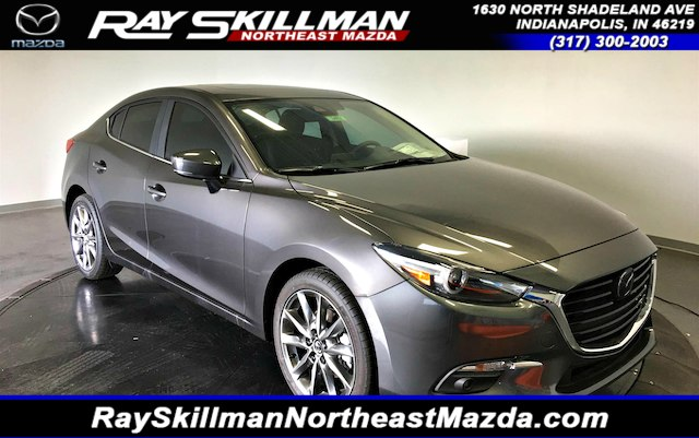 New 2018 Mazda3 4DR GRAND TOURING AT