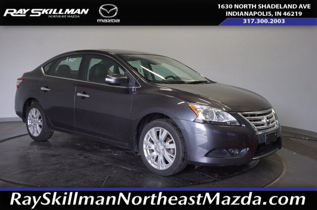 Pre-Owned 2014 Nissan Sentra SL