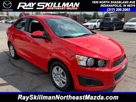 Pre-Owned 2015 Chevrolet Sonic LT Manual