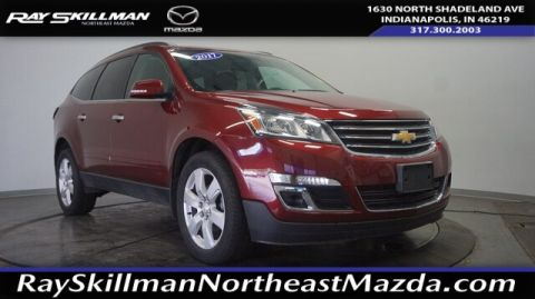 Pre-Owned 2017 Chevrolet Traverse LT w/1LT