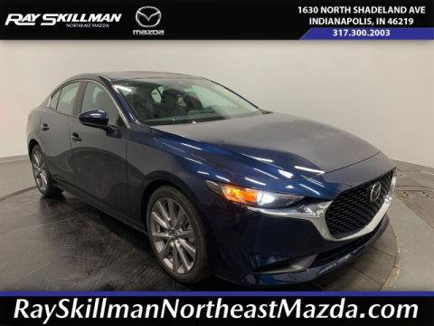 New 2020 Mazda3 FWD W/SELECT PKG